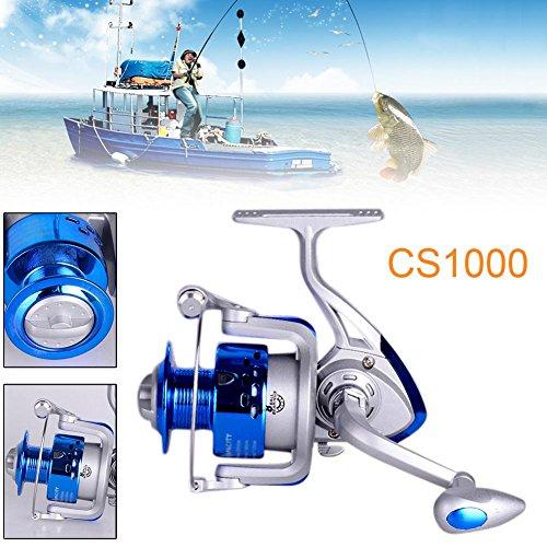 XY ZONE 8BB Ball Bearing Plastic Saltwater/Freshwater Fishing Spinning Reel CS1000
