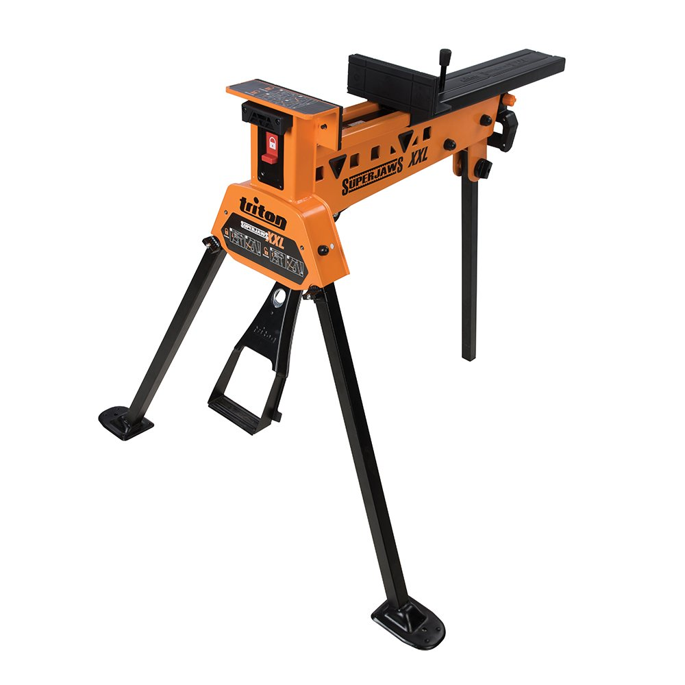 Triton SJA100XL Super Jaws Portable Clamping System, Orange, 2X-Large