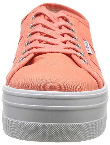 Papaya victoria Lona Blucher Sneakers Damen Orange C4CxpFwRq