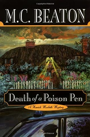 book cover of Death of a Poison Pen