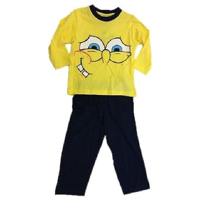 fc5aa35d80 Pijama largo para ni ntilde o de Bob Esponja. Camiseta y pantal oacute n  para