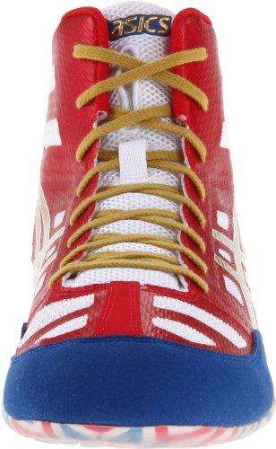 Asics - Männer Elite Jb Schuhe, True Red/Olympic Gold/White, 41.5