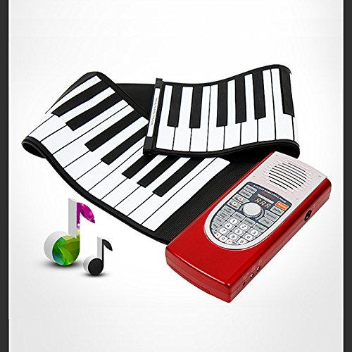 Anypia Hand Roll Up Piano Electronic Portable Keyboard by ANYPIA
