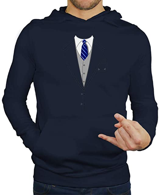 latostadora - Jersey Traje Corbata Azul para Hombre: Amazon ...