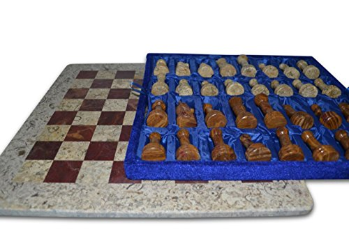 Primiur Marble Chess Beige and Brown (Beige Red)
