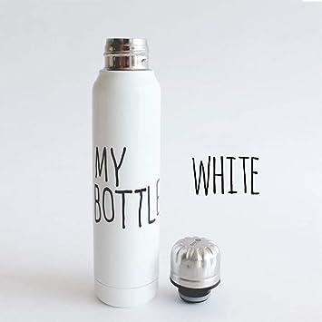 ZXASDC Botella de Agua de Acero Inoxidable 300 ml 5 Capas ...