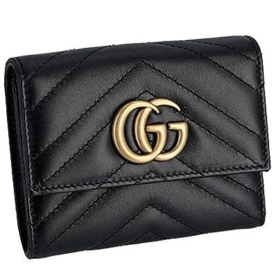 lowest price 9c17e 522e3 Amazon | GUCCI(グッチ) マーモント ミニ財布 Gg Marmont 2.0 三 ...