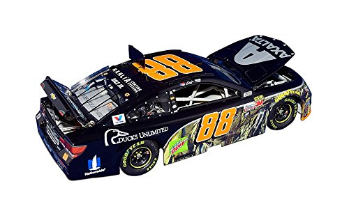 AUTOGRAPHED 2017 Dale Earnhardt Jr. #88 Axalta Racing CAMO DUCKS UNLIMITED (Retirement Final Season) Lionel 1/24 Scale Collectible NASCAR Diecast Car with COA (#0324 of only 1,825 produced!)