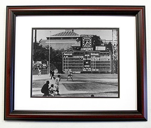 Pittsburgh Pirates Picture Frame (Bill Mazeroski Pittsburgh Pirates 1960 World Series HR 8x10 Photo in an 11x14 Cherry Frame #1)