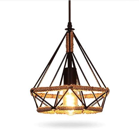 Vintage La Industria iluminación Loft Lámpara Colgante Techo ...