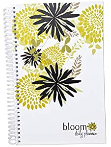 """bloom daily planners 2017 Calendar Year Daily Planner (+) Passion/Goal Organizer (+) Fashion Agenda (+) Weekly Diary (+) Monthly Calendar (+) January 2017 - December 2017 (+) 6"""" x 8.25""""-Best Year Ever"""