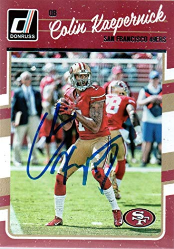 ographed Signed Card San Francisco 49ers - COA - Mint Condition ()