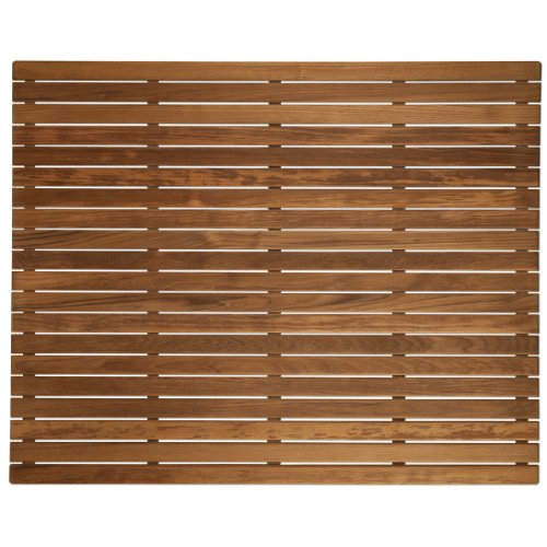 Plantation Teak Shower Mat (36'' x 30'') by Teakworks4u