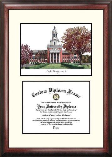 Campus Images TX955V Baylor University Scholar Diploma Frame, 11