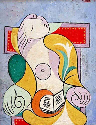 Used, Neron Art Pablo Picasso La Lecture, 1932 - Original for sale  Delivered anywhere in USA
