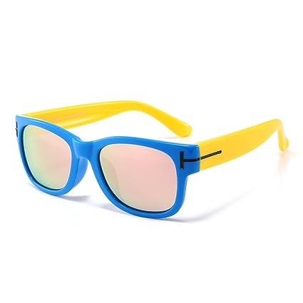 0cd345755b Gafas de seguridad Gel de sílice con estilo Full Frame niños gafas de sol  polarizadas con ...