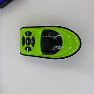 Bemodified MX-703 Lightweight Portable Card Inserting MP3 Player Sports Music Player High-Definition Sound MP3 - Green
