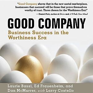 Good Company Audiobook
