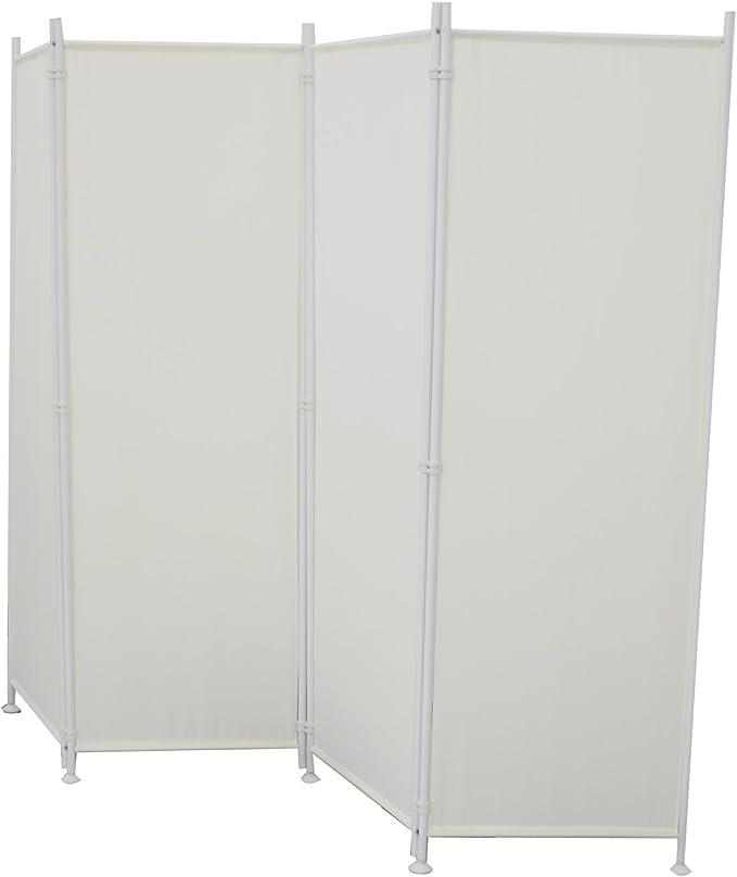 SAILUN® 215x170cm Beige Biombo de Privacidad Plegable para Casa de ...