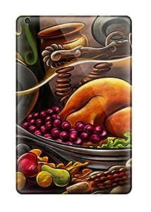 Tpu ZippyDoritEduard Shockproof Scratcheproof Thanksgiving Cartoon Hard Case Cover For Ipad Mini/mini 2