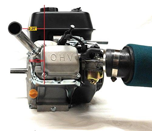 Exhaust Pipe for Predator 212cc, Honda GX160, GX200  Go Kart & mini bikes