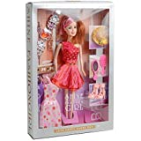 elfigo merchandise Shine Fashion Girl Doll Fashions and Accessories (Multicolour)
