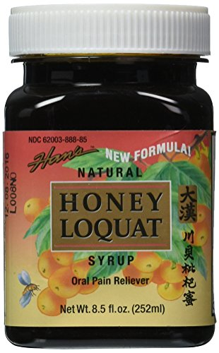 Han'S Prince of Peace Natural Honey Loquat Syrup, 8.5 Fluid Ounce