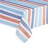 Sydney Stripe Printed Fabric Tablecloth - Best Reviews Guide