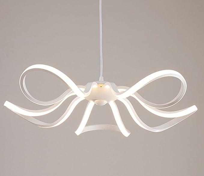Lámpara colgante moderna Iluminación de 65 W LED blanco ...
