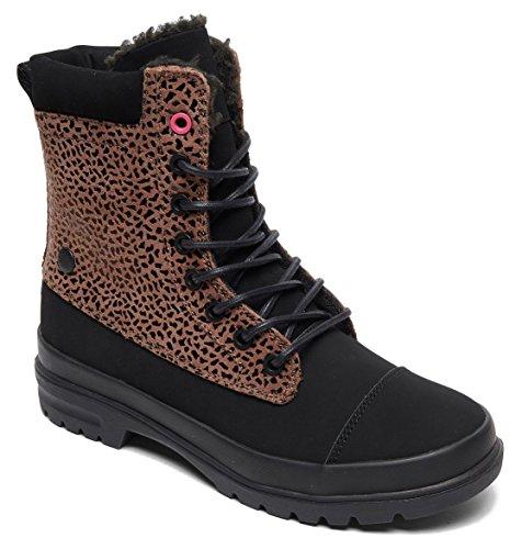 DC de Femme Marron Skateboard Print Che Amnesti Chaussures Shoes Cheetah Winter SwIUxZqSHr