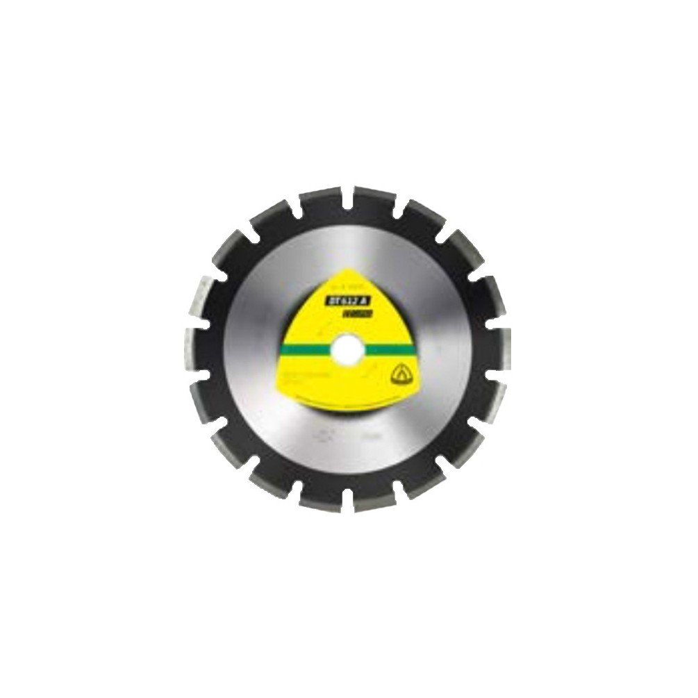 Klingspor–Diamant-Trennscheibe Supra DT 612A D. 350x 3,2x HT. 10x 25,4mm–Asphalt/Steingut–330076