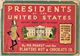 PRESIDENTS OF THE UNITED STATES: HISTORY TOURS WITH MR. PEANUT - Mr. Peanut's Fourth Paint Book!