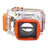EACHSHOT 40M 130ft Waterproof Underwater Housing Case for Nikon J1 10-30mm Lens Camera
