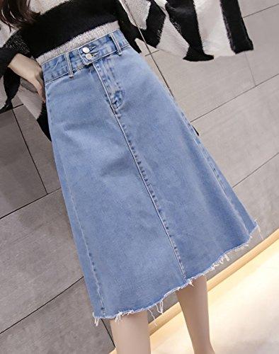Sky Correas Blue Moda Verano Taille Joven De Deportiva Elegantes Mujer Cruzadas Faldas Minifalda Falda Retro Ropa Cortos Elastische wnSxazqPP