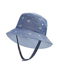 2fd096c71a9 vivobiniya Baby Boy Sun Hats Toddler Boy Bucket Hats Kid Sun Helmet  0-6years Old