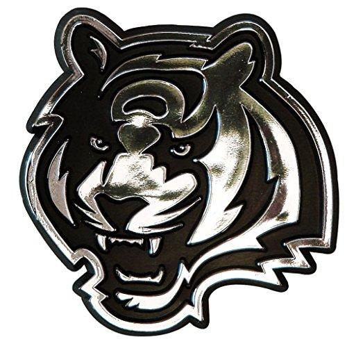NFL Cincinnati Bengals Chrome Automobile Emblem