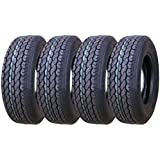 4 New Premium FREE COUNTRY Trailer Tires ST 205/75D15 - 11021 …