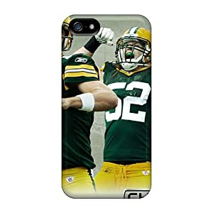 Awesome Design Green Bay Packers Hard Cases Covers For Iphone 5/5s
