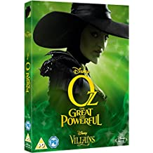 Oz : The Great & Powerful [Blu-ray] Disney Villains O-Ring Slipcover Edition UK Import (Region Free) Disney Classics #51