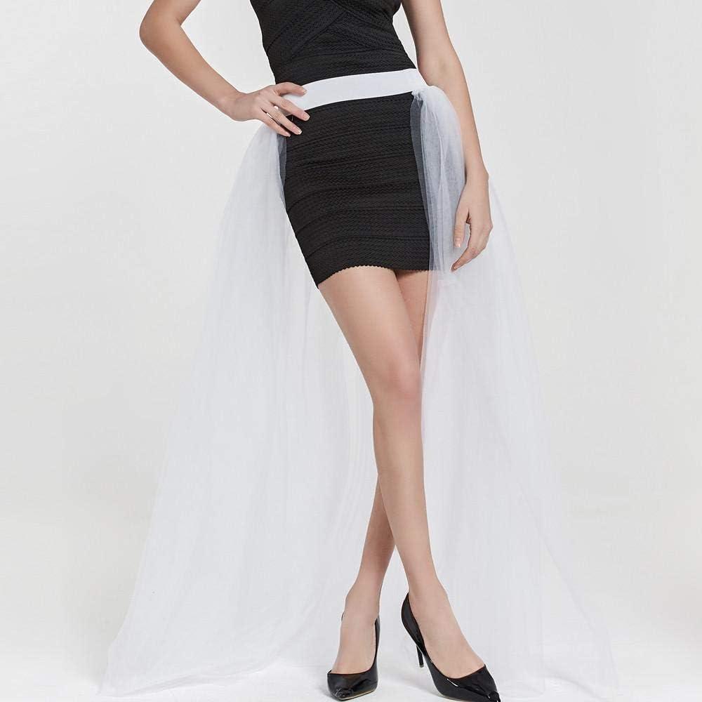 VJGOAL Mujer Verano Moda Casual Color sólido Falda de Tul Princesa ...