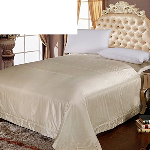 Free Shipping JIEJIEDE Satin Bed Sheets,Warm Coverlet Wrinkle Resistant  Thickened Hypoallergenic For All Seasons