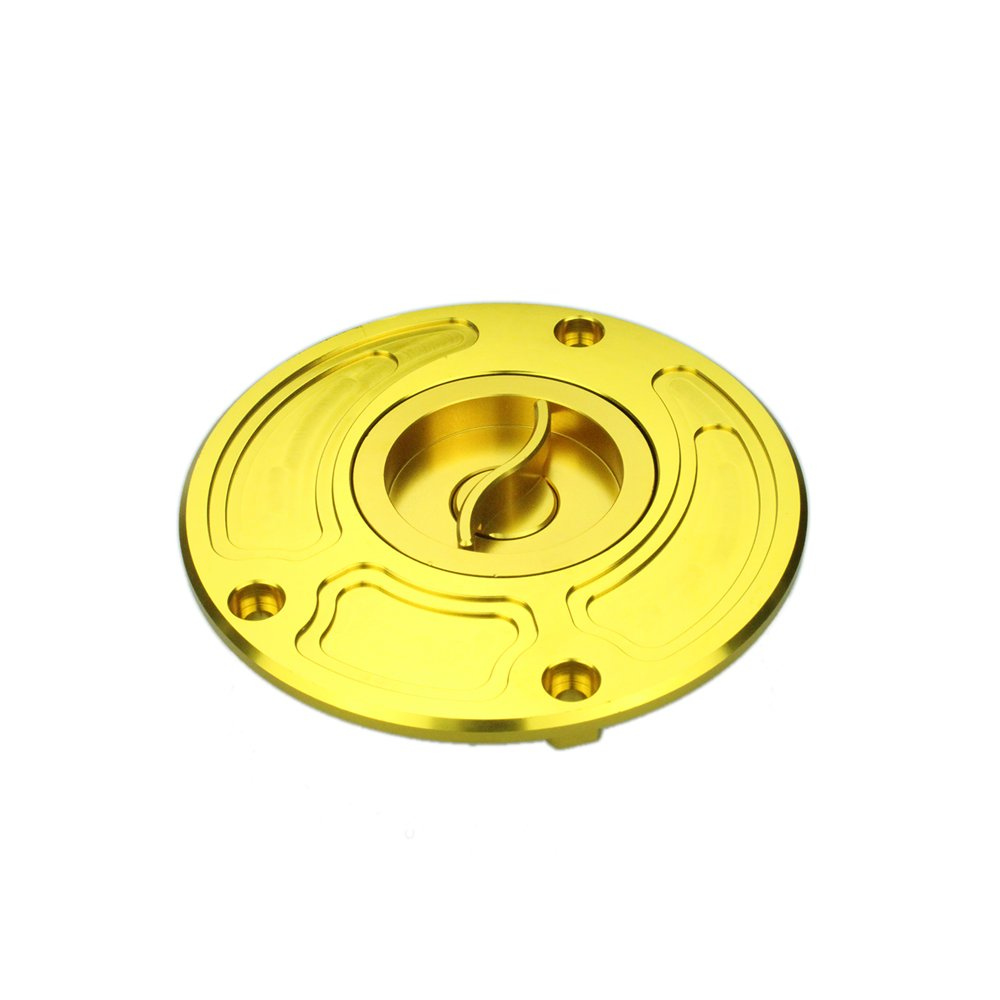 Amazon.com: Rzmmotor Motorcycle CNC Aluminum Gas Fuel Tank Oil Cap Cover Fit For KAWASAKI Z1000 2003-2006 ZRX 1200 A1 All Years Gold: Automotive