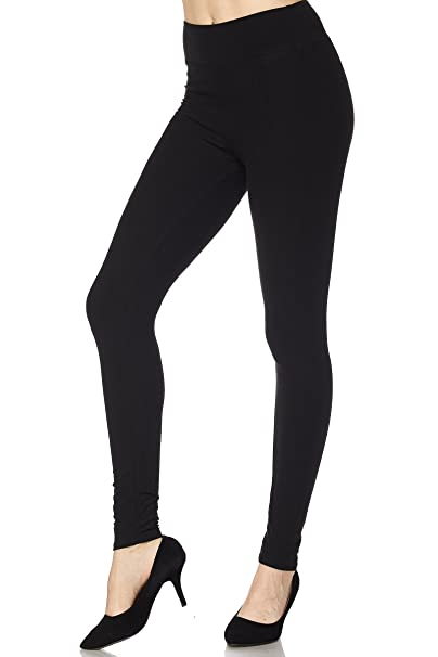 "3a9987be77056 ZAVANA Women's Capri (5"") High Waisted Buttery Soft Tummy Control  Opaque Slim Yoga"