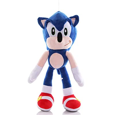 Super Sonic Hedgehog 9''Plush Doll—6 Colors: Toys & Games