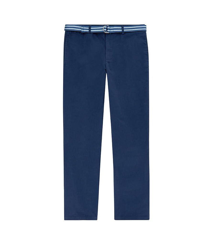 RALPH LAUREN Polo Boys Striped Belt Chino Pants 8