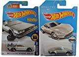 Hot Wheels 2016 Aston Martin DB10 (James Bond Spectre) & Back to the Future Time Machine Hover Mode