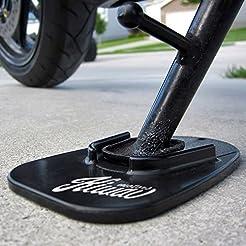 KiWAV Motorcycle kickstand pad support b...