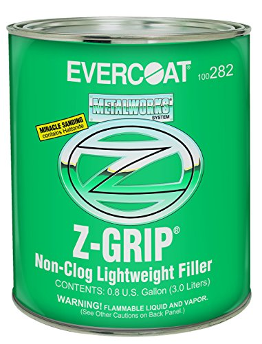 Light Filler (Evercoat 282 Z-Grip Non-Clog Lightweight Filler - Gallon (Blue cream hardener included))