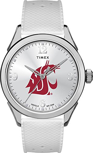 (Timex Washington State University Ladies Silcone Athena Watch)