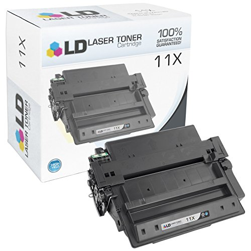 2430 Remanufactured Laser Toner - LD Compatible Replacement for HP 11X Q6511X High Yield Black Toner Cartridge for Laserjet 2420, 2430